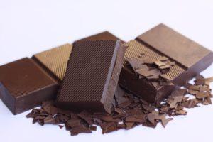 板チョコレートの一部